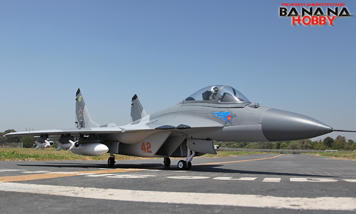 For Sale : Banana Hobby Super MiG-29 RC EDF Jet ARF - India's open