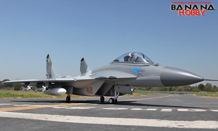 For Sale : Banana Hobby Super MiG-29 RC EDF Jet ARF