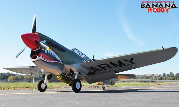 翼展2米p-40遥控战斗机航