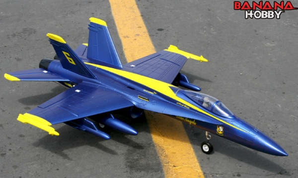 FMS 4 CH Blue Angel F 18C Hornet RC EDF Jet Parts
