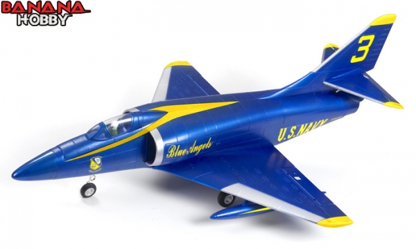 FMS 4 CH Blue Angel A 4 Skyhawk RC EDF Jet Parts