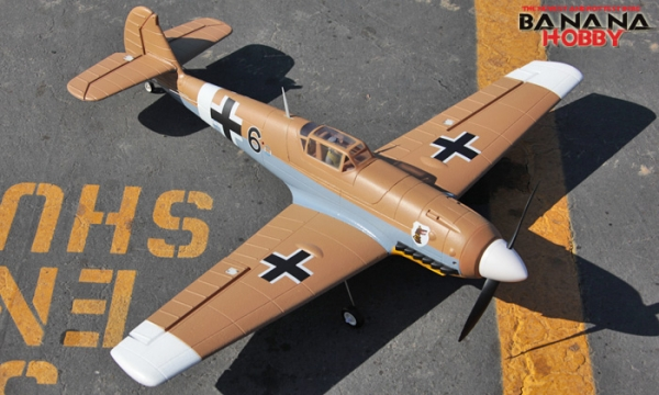 FMS FMS 4 CH Brown Mini BF109 RC Warbird Airplane Parts