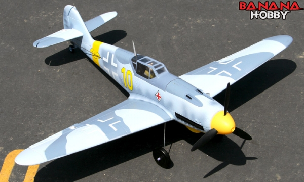 FMS 4 CH Camo Mini BF109F RC Warbird Airplane Parts