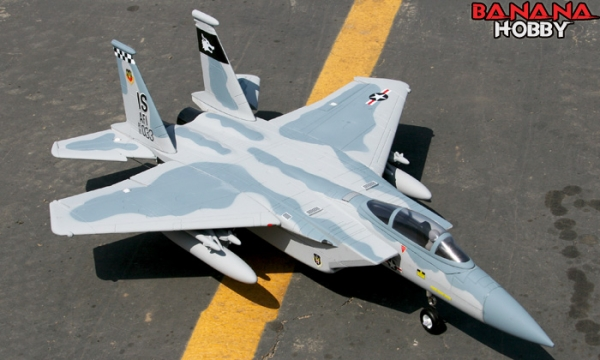 FMS 4 CH Grey Camo F 15E Strike Eagle RC EDF Jet Parts