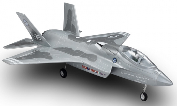 FMS 4 CH Grey Camo F 35 Lightning II RC EDF Jet Parts