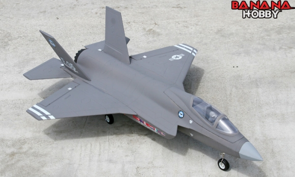FMS 4 CH Grey F 35 Lightning II RC EDF Jet Parts