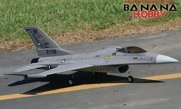 FMS 4 CH Grey Fighting Falcon F 16 RC EDF Jet Parts