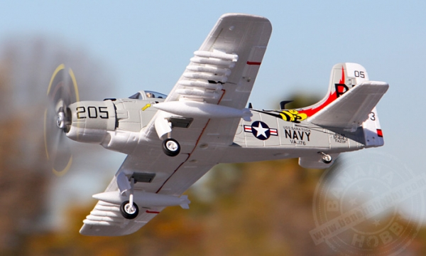 FMS 4 CH Mini A1 Skyraider V2 RC Warbird Airplane Parts