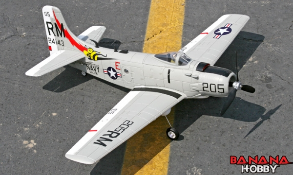FMS 4 CH Mini A1 Skyraider RC Warbird Airplane Parts