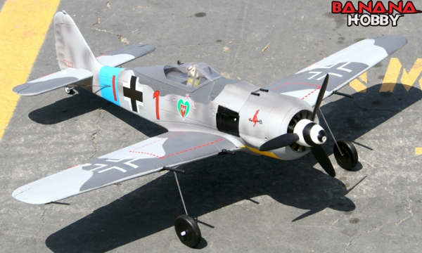 FMS 4 CH Mini FW190 RC Warbird Airplane Parts