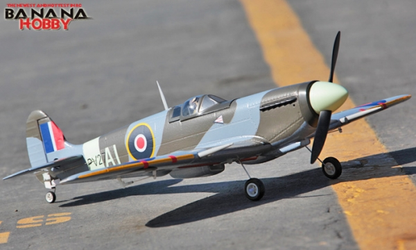 FMS 4 CH Mini Spitfire RC Warbird Airplane Parts