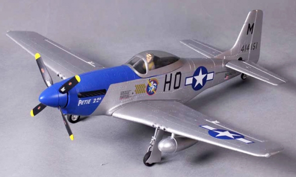 FMS 4 CH Petie 2nd Mini P51 D Mustang V2 RC Warbird Airplane Parts