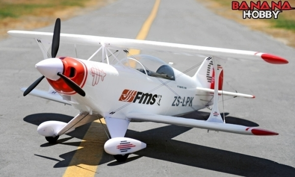 FMS 4 CH Pitts Sport RC 3D Airplane Parts