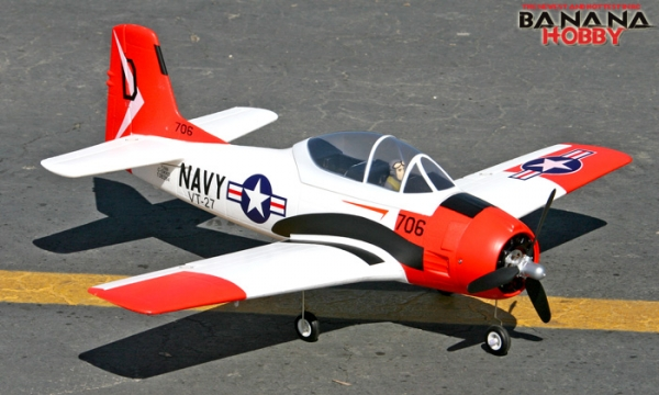 FMS 4 CH Red Mini T 28 Trojan RC Warbird Airplane Parts