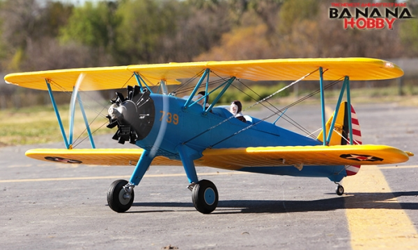 FMS 4 CH Stearman PT 17 RC Biplane Airplane Parts