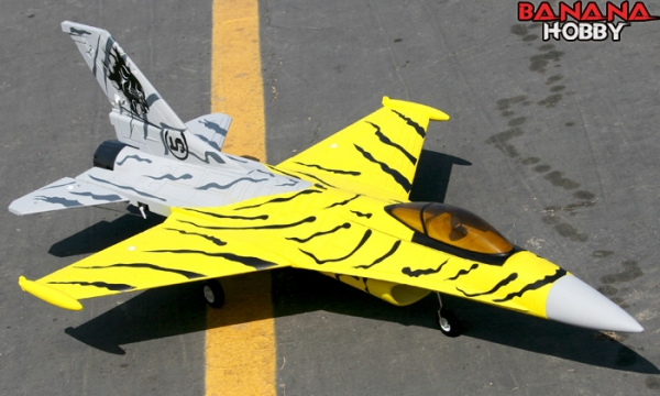 FMS 4 CH Tiger F 16 Fighting Falcon RC EDF Jet Parts
