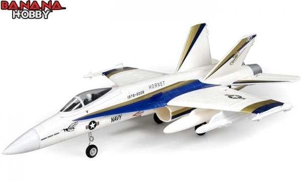 FMS 4 CH White F 18C Hornet RC EDF Jet Parts