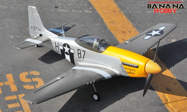 FMS 4 CH Yellow Mini P51 D Mustang RC Warbird Airplane Parts
