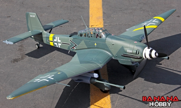 FMS 5 CH Junkers Ju 87 Stuka RC Warbird Airplane Parts