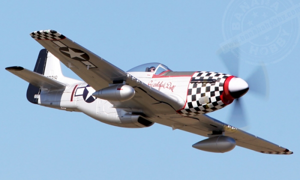 FMS 6 CH Beautiful Doll Giant P51 D Mustang V7 RC Warbird Airplane Parts