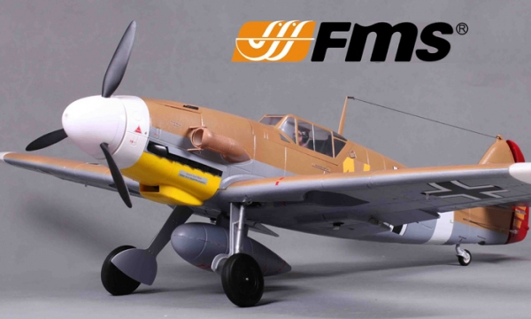 FMS 6 CH Brown Giant Messerschmitt Bf 109f RC Warbird Airplane Parts