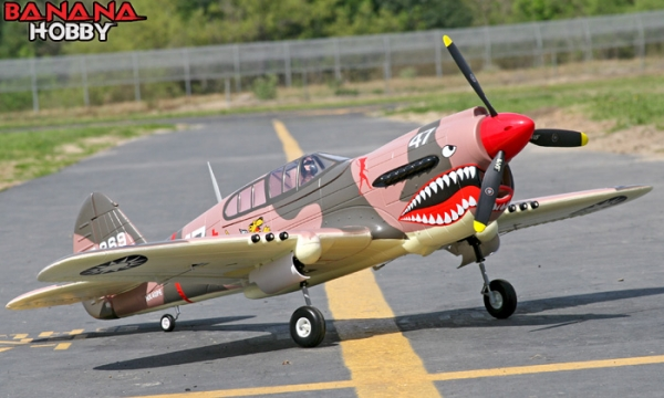 FMS 6 CH Camo Giant P 40 Warhawk RC Warbird Airplane Parts