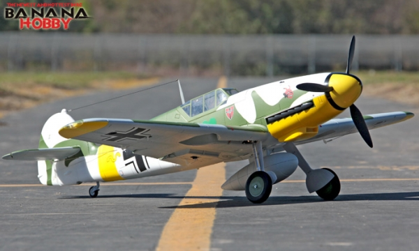 FMS 6 CH Camo Giant Messerschmitt Bf 109f RC Warbird Airplane Parts