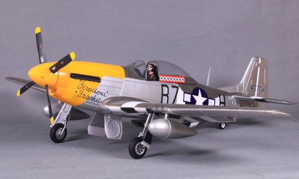FMS 6 CH Ferocious Frankie Giant P51 D Mustang V7 RC Warbird Airplane Parts