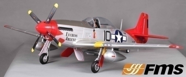 FMS 6 CH Red Tail Giant P51 D Mustang V7 RC Warbird Airplane Parts