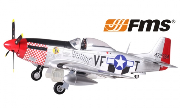 FMS 6 CH Shangri La Giant P51 D Mustang V7 RC Warbird Airplane Parts