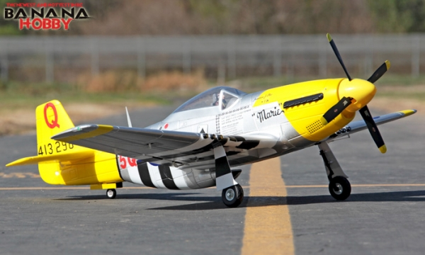 FMS 6 CH Yellow Giant P51 D Mustang RC Warbird Airplane Parts