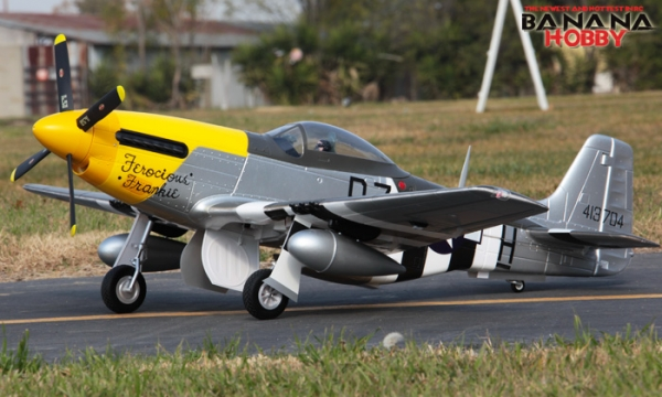 FMS 7 CH Ferocious Frankie Super P51 D Mustang RC Warbird Airplane Parts
