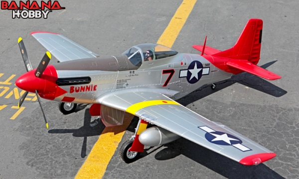 FMS 7 CH Red Tail Super P51 D Mustang RC Warbird Airplane Parts