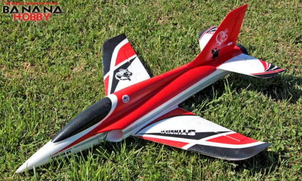 Freewing 4 CH Red Stinger RC EDF Jet Parts