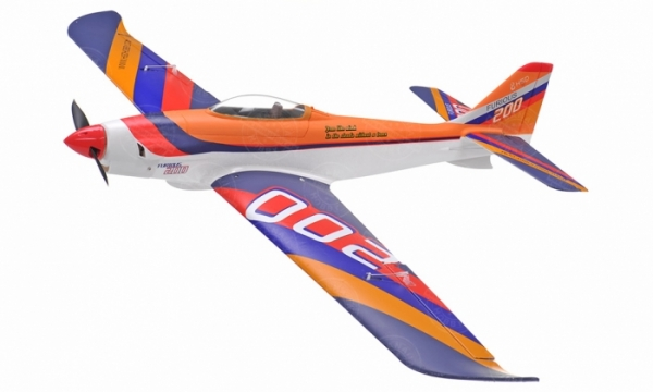 HSD 4 CH Blue Furious 200 RC Sport Airplane Parts