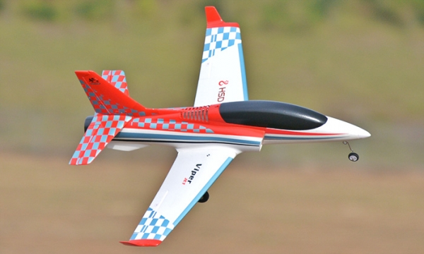 HSD 4 CH Red Checker Viper 75mm RC EDF Jet Parts