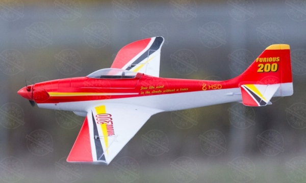 HSD 4 CH Red Furious 200 RC Sport Airplane Parts