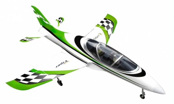 HSD 6 CH Green Checker Super Viper 105mm RC EDF Jet Parts