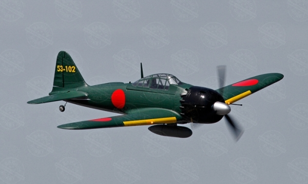 HSD 6 CH Green Zero Fighter RC Warbird Airplane Parts