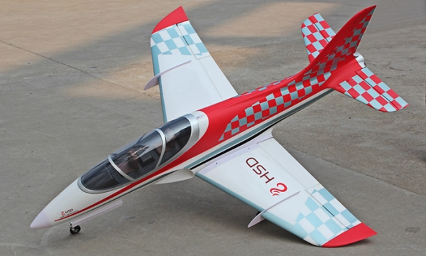 HSD 6 CH Red Checker Super Viper 105mm RC EDF Jet Parts