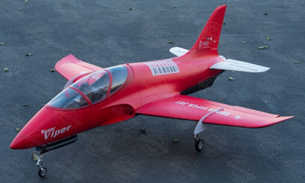 HSD 6 CH Red Super Viper 105mm RC EDF Jet Parts