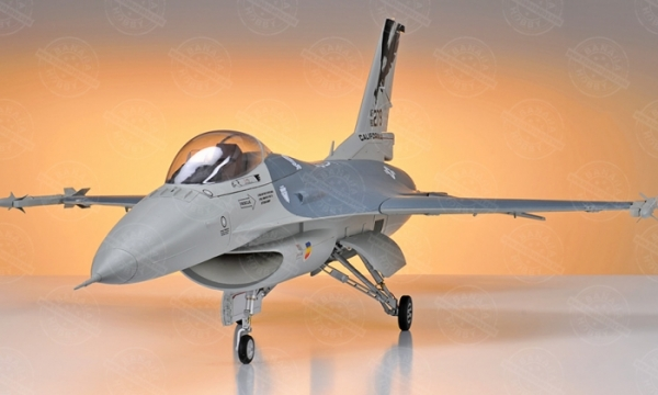 HSD 7 CH Gray F 16 Fighting Falcon 105mm RC EDF Jet Parts