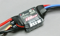 120A Brushless ESC with UEBC for HSD 8 CH Gray Camo J-10 Vigorous Dragon RC EDF Jet