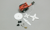 17g Digital Servo for BlitzRCWorks 5 CH Super Sky Surfer / 6 CH Wing Master RC Planes