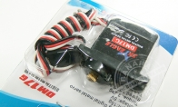 "17g Metal Servo Positive Servo with 500mm (19.69"") Lead for BlitzRCWorks 4 CH F-117 Stealth Fighter RC EDF Jet"
