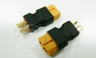2 x XT-60 Female to Deans T-Plug Male Adapter for BlitzRCWorks 6 CH Green B-25 Mitchell Bomber RC Warbird Airplane