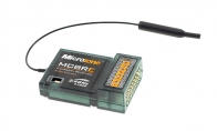 2.4GHz 8 Channel MC-8RE Receiver for Microzone 8 CH 2.4GHz MC-8B Programmable Radio Transmitter System Set RC