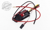 20amp Brushless ESC for BlitzRCWorks 3 CH Gray Mini F-16 RC EDF Jet