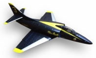 3 CH BlitzRCWorks Blue Mini A-4 Skyhawk RC EDF Jet KIT