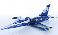 3 CH BlitzRCWorks Blue Mini L-39 Albatros RC EDF Jet KIT